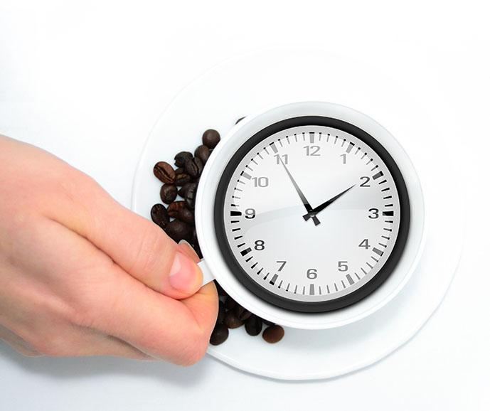 kawa i upływ czasu